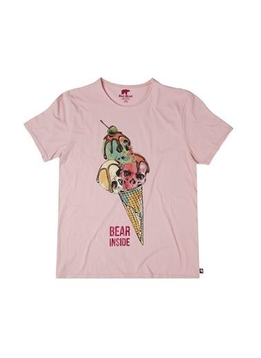 Bad Bear Tişört Pembe